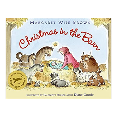 christmas in the barn book