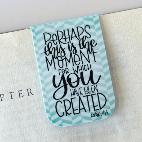 Esther 4:14 magnetic bookmark