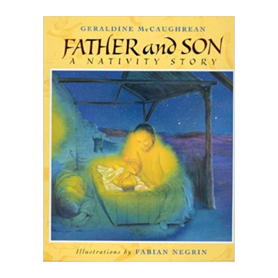 father and son a nativity story book