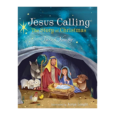 Jesus calling the story of christmas book