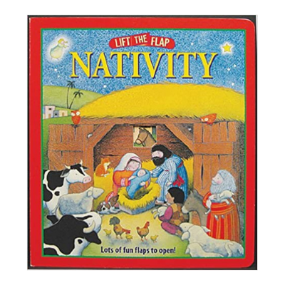 lift the flap nativity book