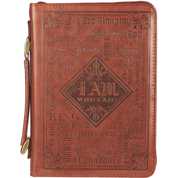 bible cover with the names of god