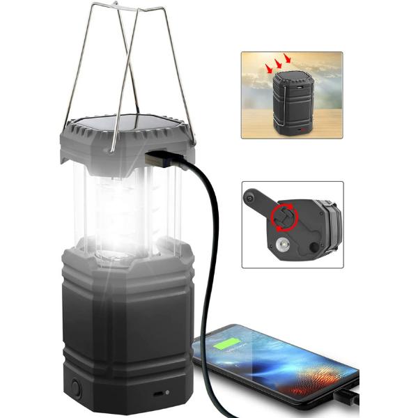 solar powered lantern